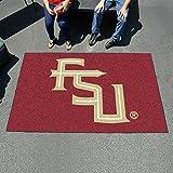 Carpeted FSU Mat - Official NCAA Florida State University Logo
