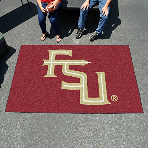 Carpeted FSU Mat - Official NCAA Florida State University Logo by Fanmats