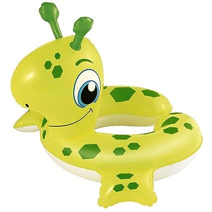 Promobo flotador cabeza Animal dinosaurio inflable Niños flotador verde