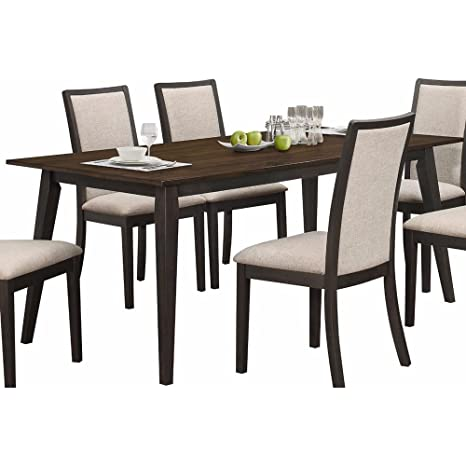 Swell Amazon Com Ncf Salonika Modern Dining Table In Antique Oak Squirreltailoven Fun Painted Chair Ideas Images Squirreltailovenorg