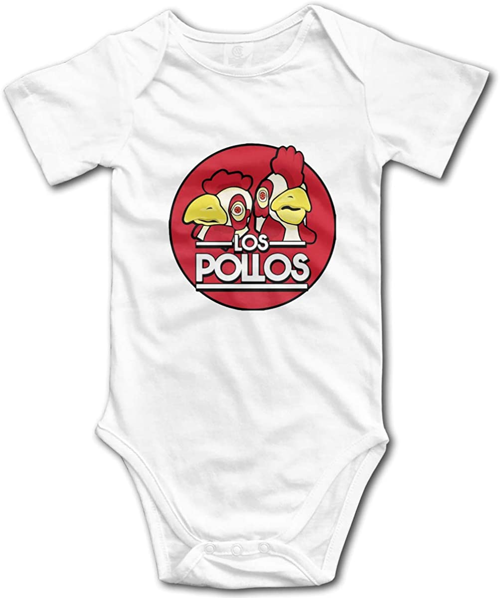 AP.Room Los Pollos Hermanos Baby Bodysuit Blink Climbing Clothes White 6 Months