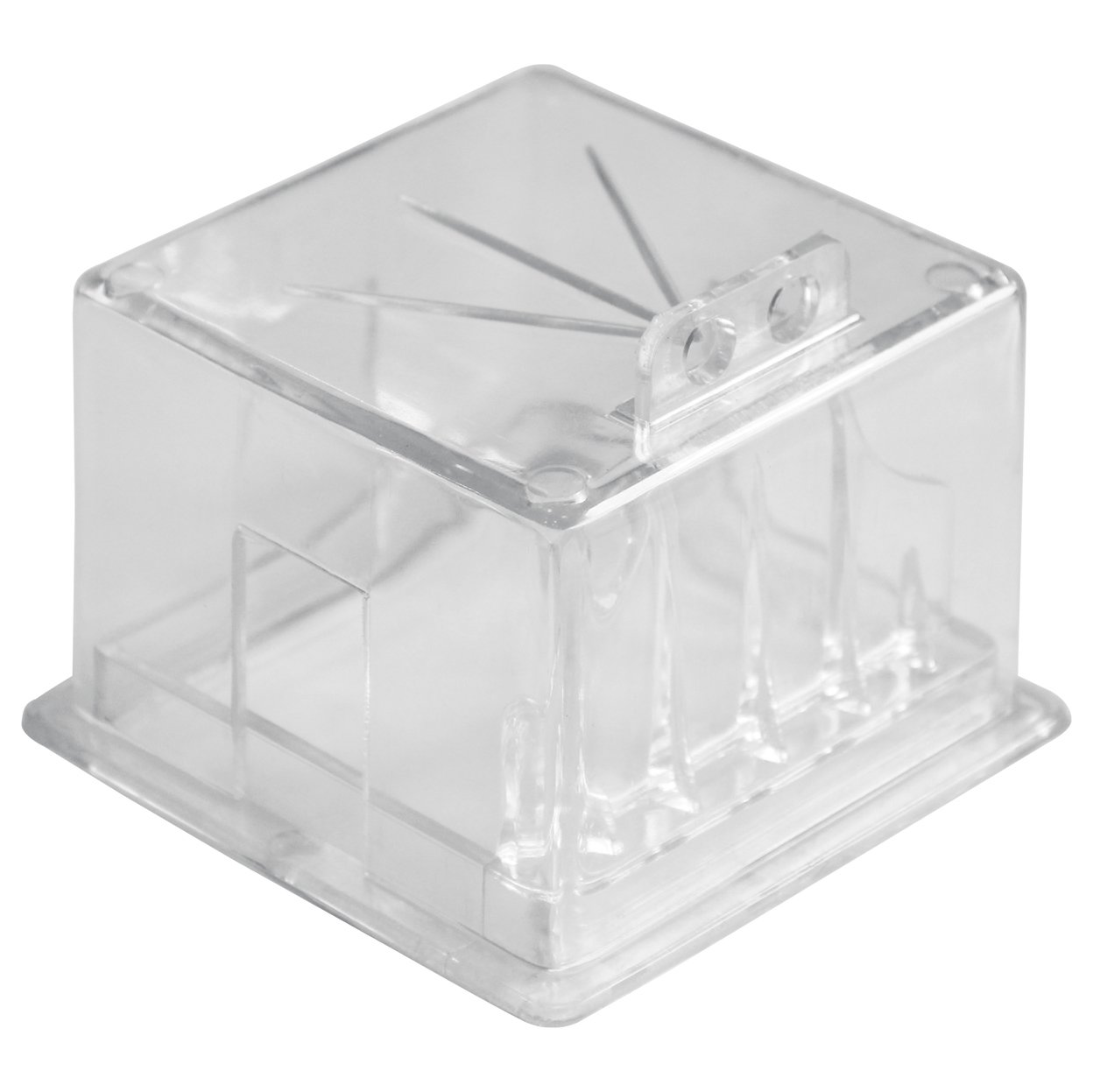 Lockout Safety Supply 7281 Electrical Panel Lockout Square Box LG 90, Clear