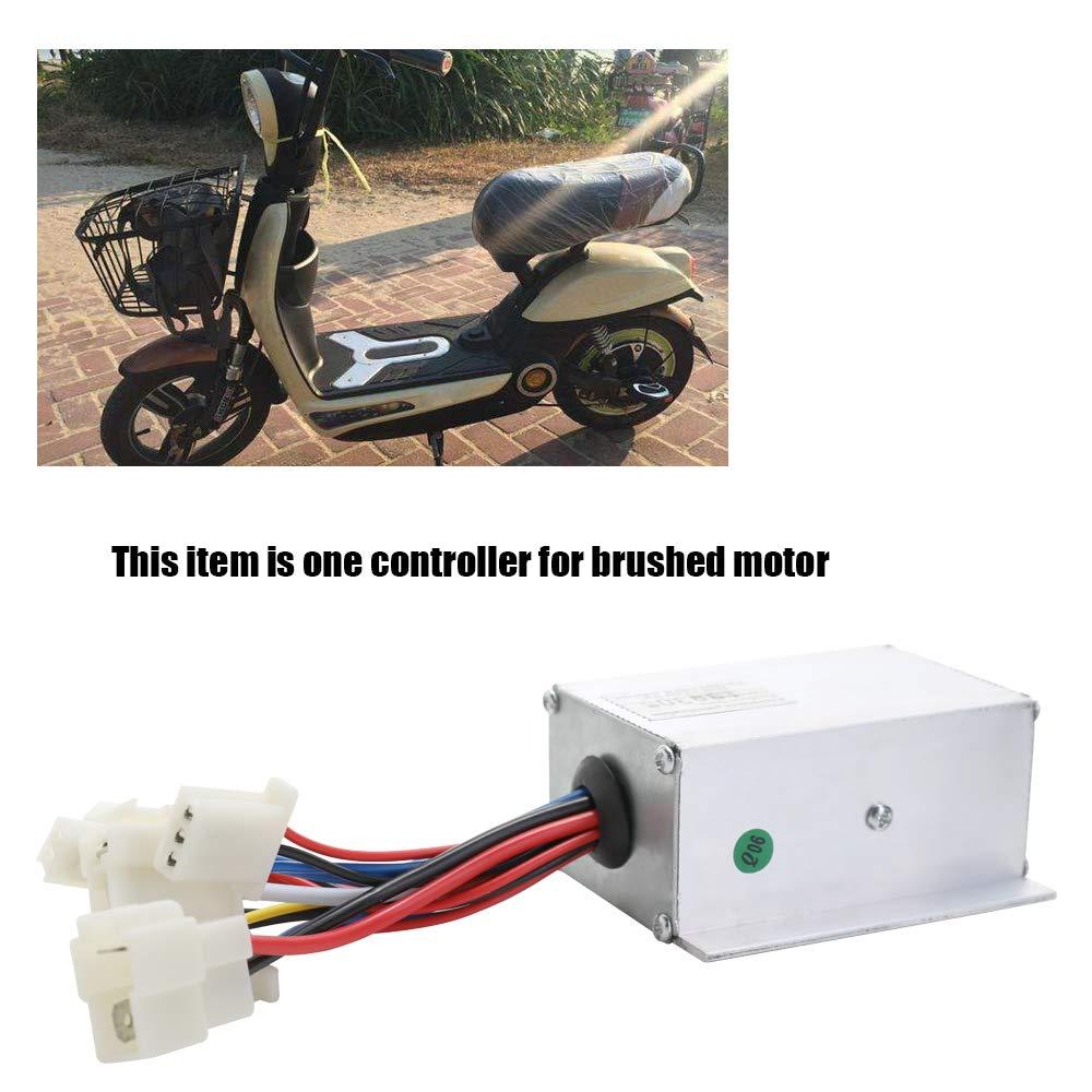 Festnight 24V 250W Motor Brush Controller Drehzahlregler f/ür Elektrofahrzeug Bike Scooter