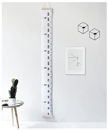 Amazon Wdhome Kid Growth Chart Portable Hanging Ruller Wall