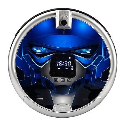 staubsaug de robot Lactancia Cool Robot aspirador con mando a distancia pantalla LCD 24 W