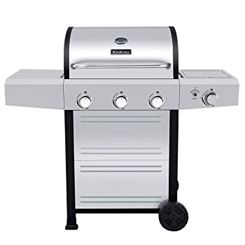 RINKMO GG-23BBQ 606sq. in Gas Grill
