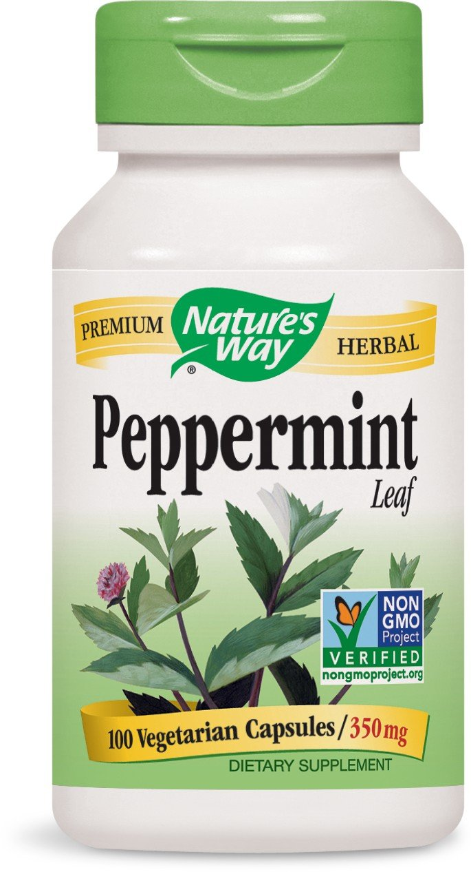 Nature's Way, Peppermint, Leaves, 100 Capsules by Nature's Way (Image #1)