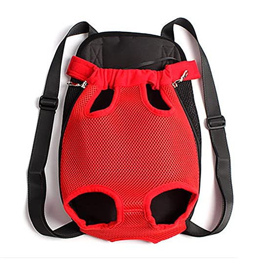 Amazon.com: LOHUA Comfortable Legs Out Front Pet Carrier Backpack,Traveling Dog Cat Pet Bag for Hiking Camping with Adjustable Strap: Sports & Outdoors
