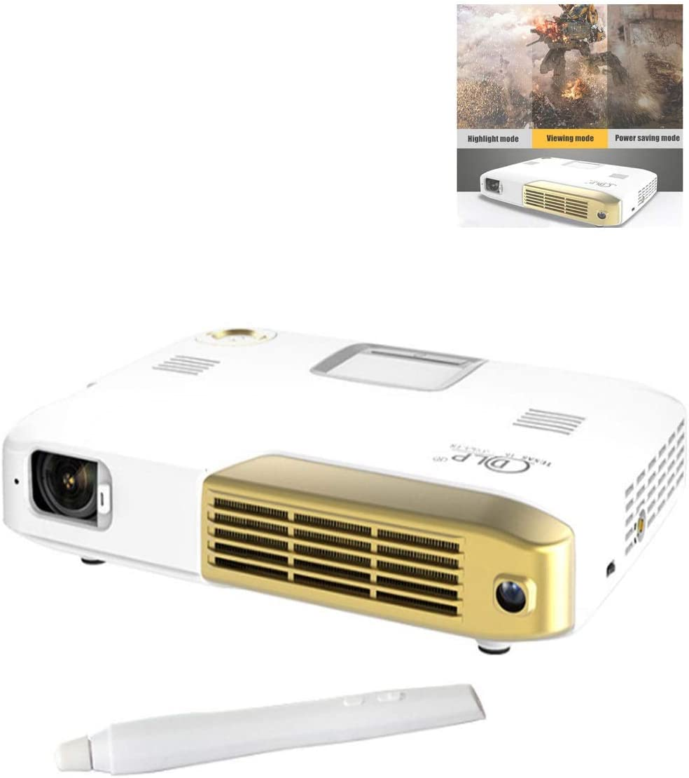 Amazon.com: LiChenYao Projector 4K Home Theater Business ...