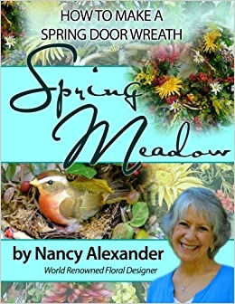 Book Spring Meadow: How to Make a Spring Door Wreath