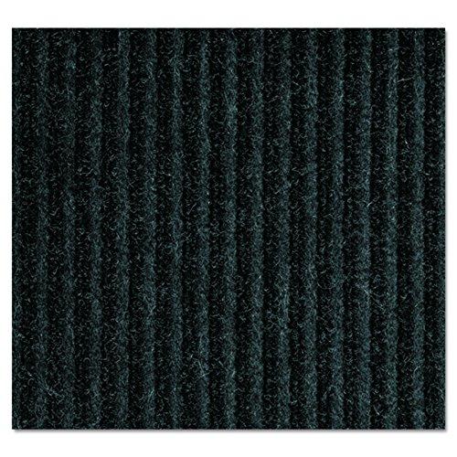 (Crown NR0034CH Needle-Rib Wiper/Scraper Mat, Polypropylene, 36 x 48, Charcoal)