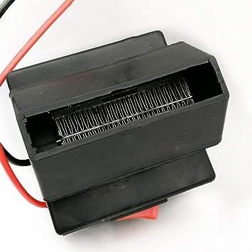 Calentador,Sopladores De Aire Caliente Calentadores Eléctricos Desempañadores Coches Calentadores Secador De Pelo: Amazon.es: Coche y moto
