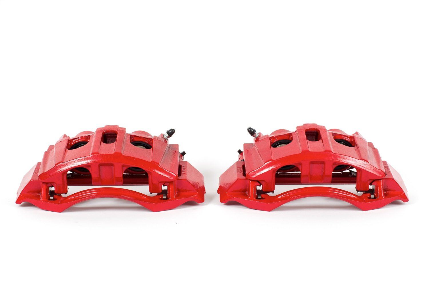 Power Stop S5074 Red Powder-Coated Performance Caliper