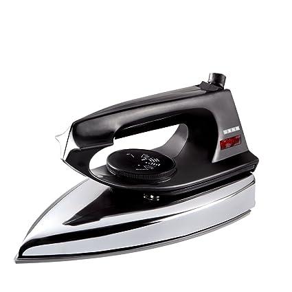 Usha EI 2802 1000-Watt Ultra Lightweight Dry Iron (Black)