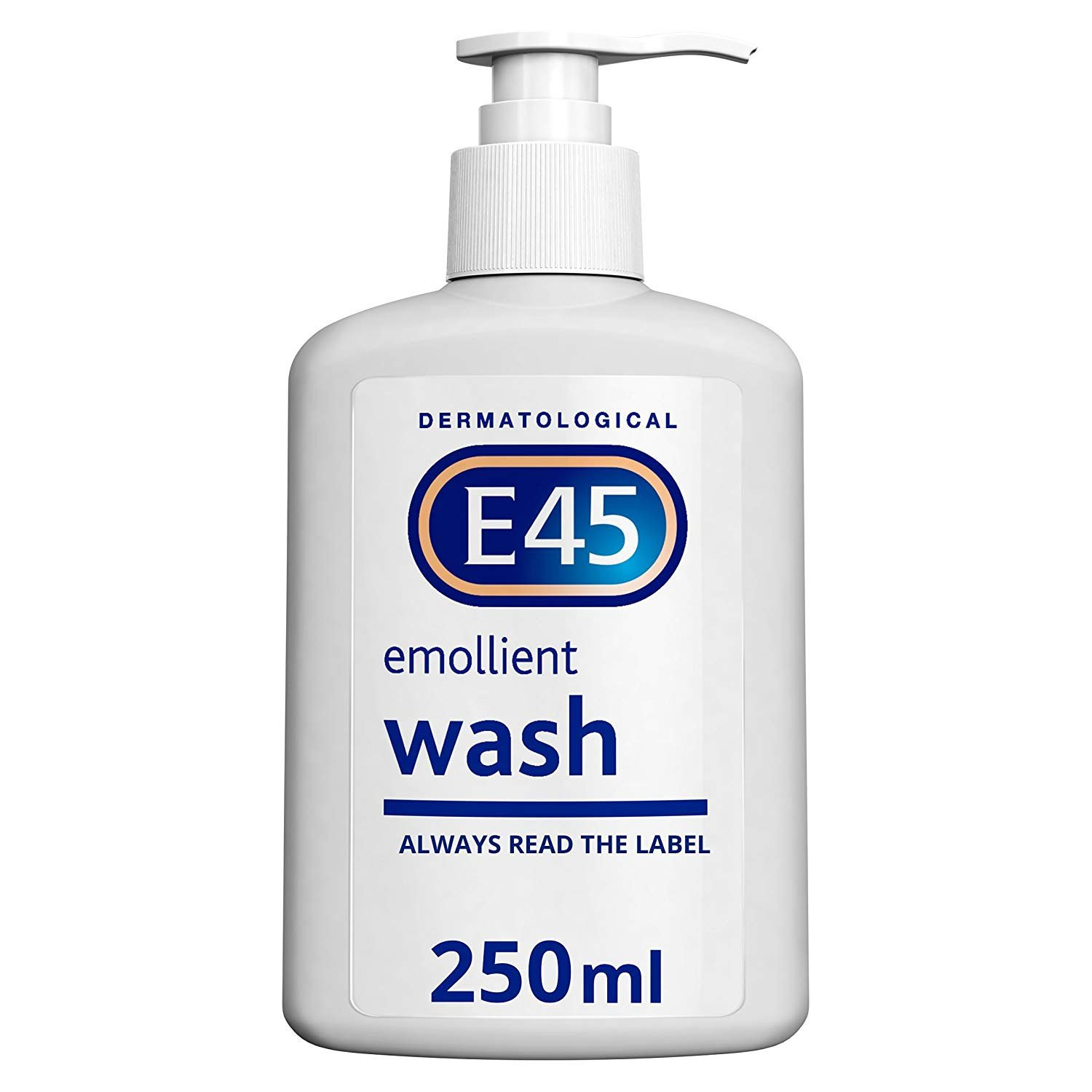 E45 Dermatological Emollient Wash Cream, 250 ml Reckitt Benckiser 217240