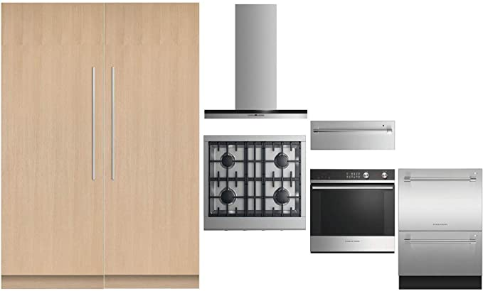 Amazon.com: Fisher Paykel 7 Piece Kitchen Package with 30 ...