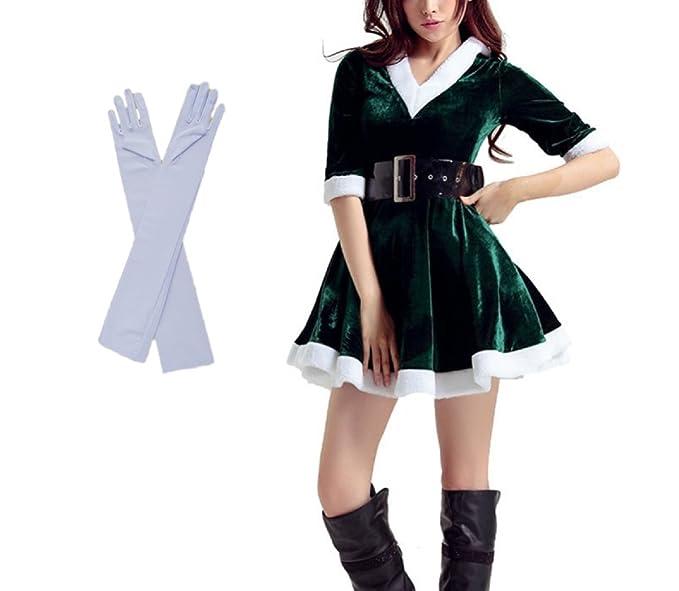 Amazon Com Vegang Women Christmas Halloween Costume Fancy Party