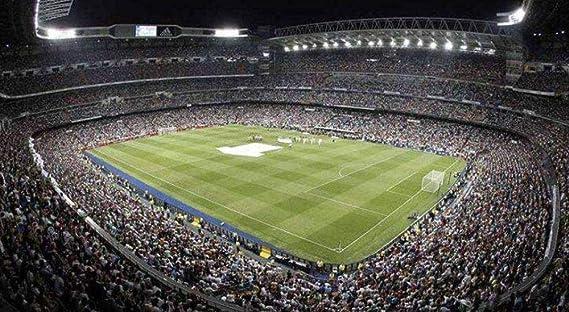 LIMEIE Puzzle 3D del Estadio, Estadio Santiago Bernabéu (Spain ...