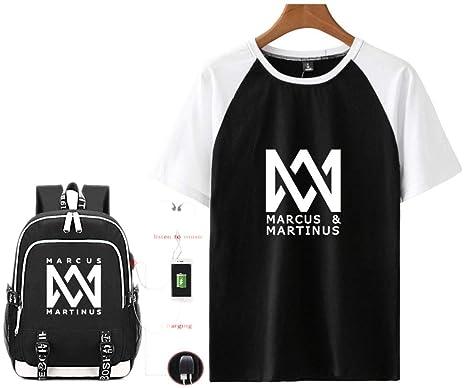 Marcus & Martinus Camiseta Bolsa para la Escuela Lindo ...