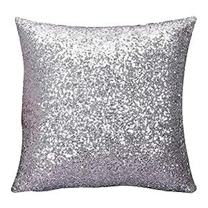 Amazon.com: Funda almohada decorativa, Neartime color liso ...