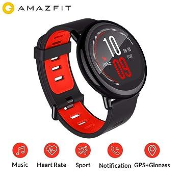 Versión Global Huami SmartWatch Amazfit Bip AMAZFIT Pace Bluetooth 4.0 GPS Deportes Reloj Inteligente Circonia Cerámica Monitor de Ritmo cardíaco ...