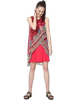 Desigual Damen Dress Ginebra Kleid