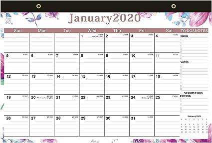 Calendario 2019 - Calendario de pared Calendario académico 2018 ...