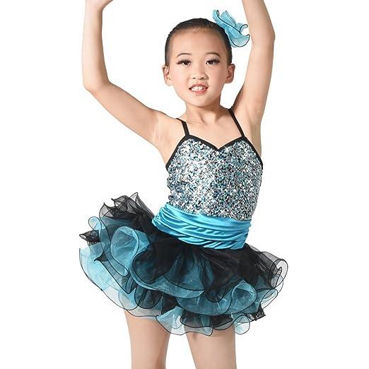 fd9284c8b615 Amazon.com  MiDee Girl s Ballet Tutu Costume Latin Dance Camisole ...