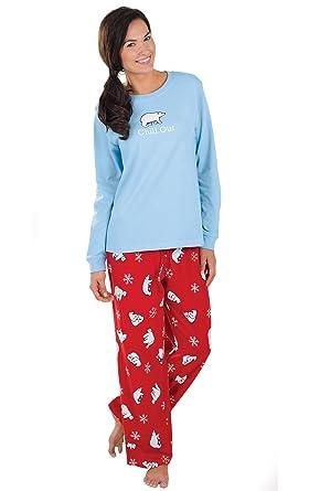 pajamagram fun christmas pajamas women womens pajamas blue chill xs 2 - Christmas Pajamas Women