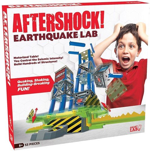 SmartLab Toys Aftershock Earthquake Lab Set (53 -