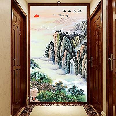XLi-You 3D Magic Off Background Wall Paper Landscape Landscape Corridors Decorated Walls Three-Dimensional Paintings
