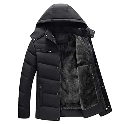 998360074a19 Image Unavailable. Image not available for. Color: Men's Casual Sherpa Fleece  Lined Jacket ...