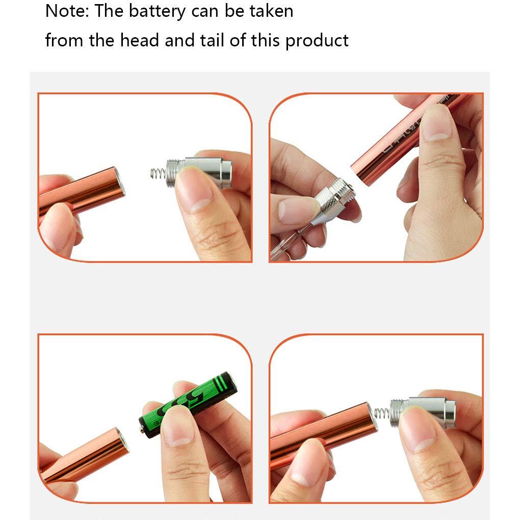 UHAoo Children Flashlight Aluminium Alloy Earpick Spoon Light Wax Curette Remover Luminous Earwax Cleaner