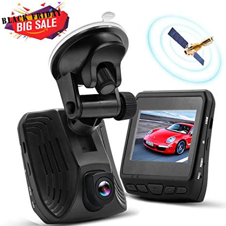 whlzd 2 K SUPER HD Cámara grabadora de salpicadero de coche Dash Cam con GPS –
