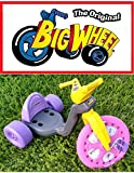 The Original Big Wheel Trike 16'' Gray, Pink & Purple with Disney Fairies Decals