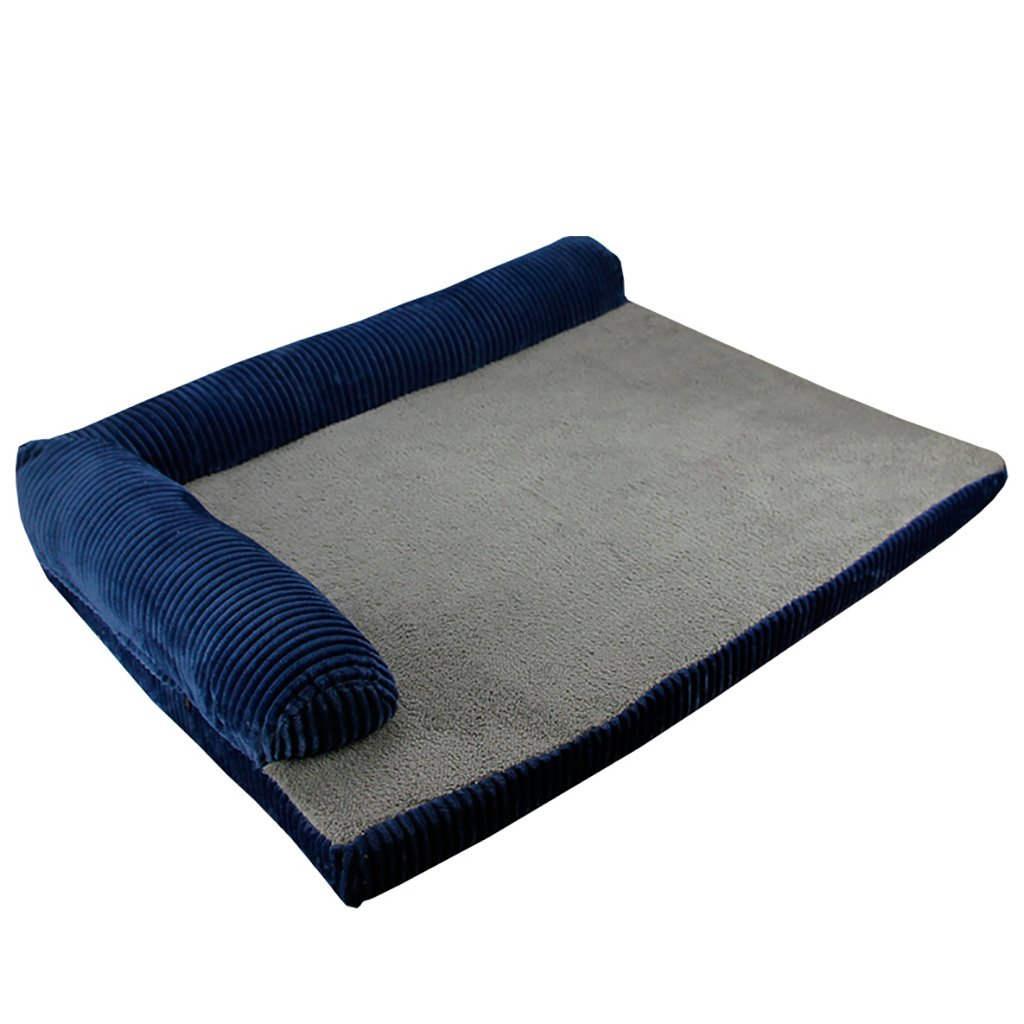 GJ@ + Pet Kennel Cat Nest Desmontable y Lavable Cuatro Estaciones ApplySmall Perro Cama Mat Dog Room, Bule, 90 * 70cm ##: Amazon.es: Hogar