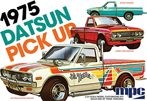 datsun plastic model kit - 5