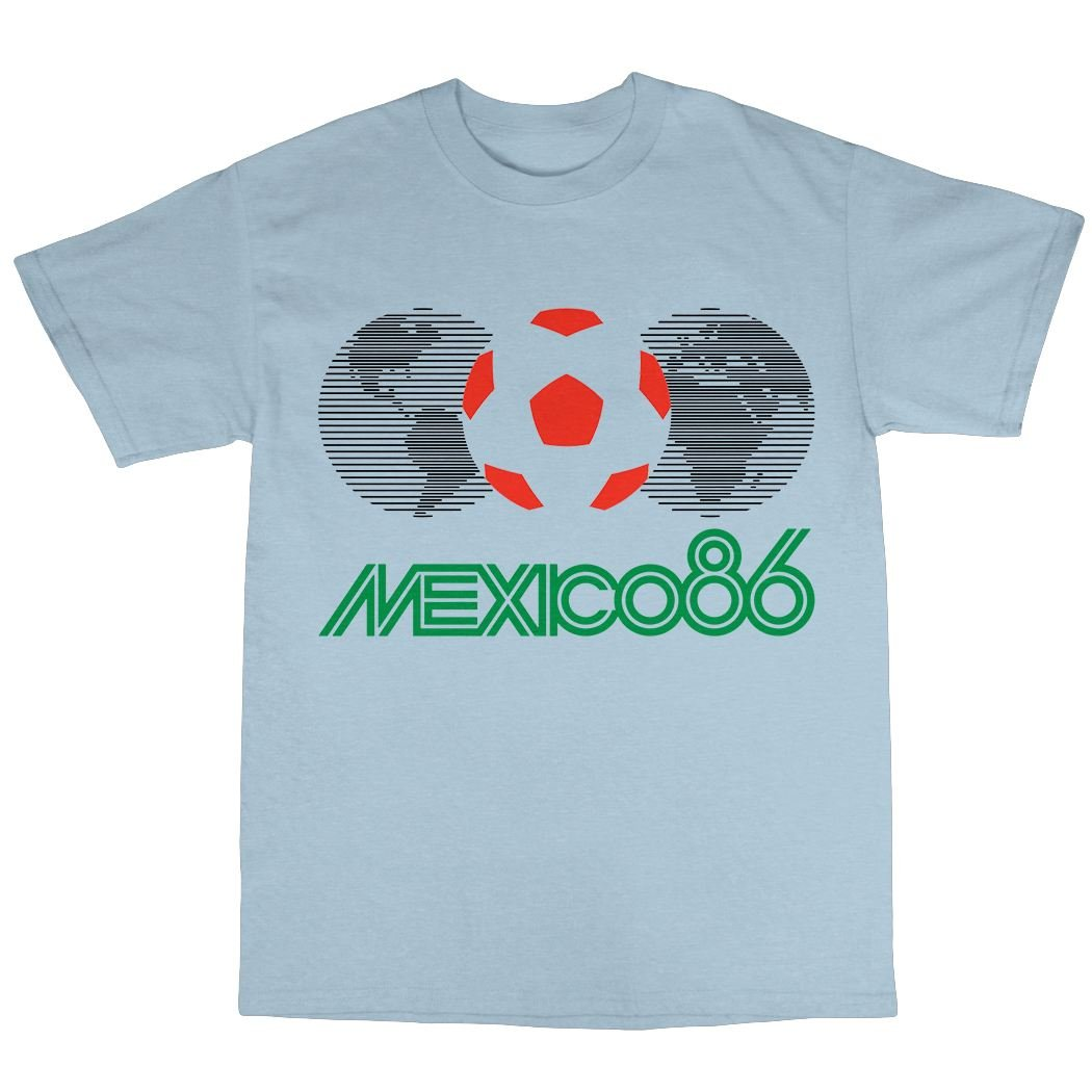 09c37d426 Bees Knees Tees Mexico 86 T-Shirt: Amazon.co.uk: Clothing