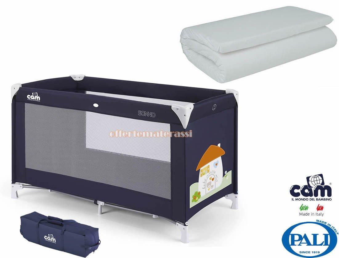 Cam Materassi.Effetto Casa Blue Cam Sleep Bed Lettino E Materasso Amazon Co Uk