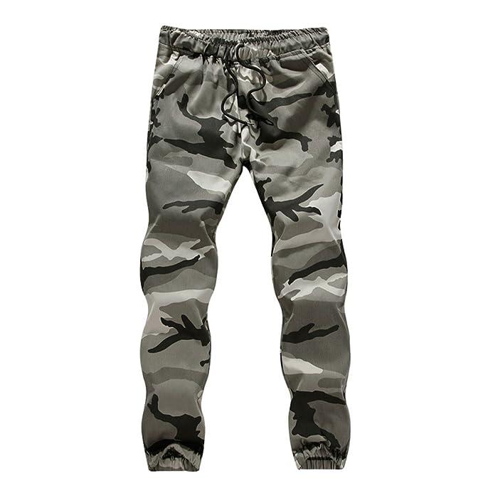 Gusspower Hombre Pantalón Deportivo Jogger Militar Camuflaje Estilo Urbano  Pantalones Casuales Tallas Grandes para Hombre Chándal  Amazon.es  Ropa y  ... 2d43ff48d86