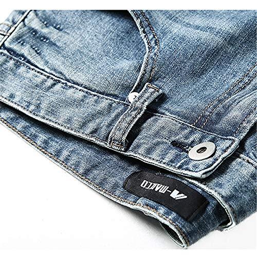 Stretch Pour Élastique Zhangcaiyun Pantalons Droit Force Denim D'hiver 30 Hommes Homme taille Décontracté En Pantalon q7Azt