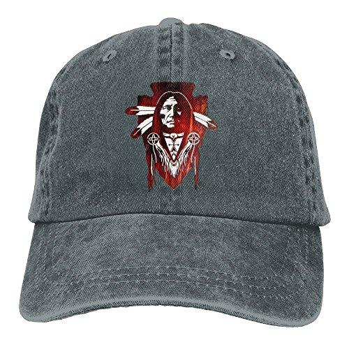 (Denim Caps Dad Baseball Hat Native American Unisex)