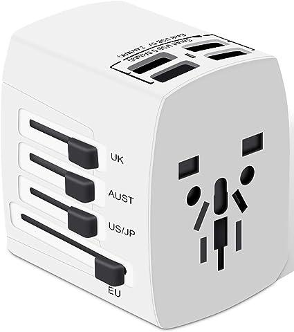 Hama USB Prises Adaptateur Charger Universal 1 A//5 W Adaptateur Sécurité Enfant