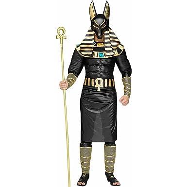 Fun World Anubis The Egyptian God Adult Costume  sc 1 st  Amazon.com & Amazon.com: Fun World Anubis The Egyptian God Adult Costume: Clothing