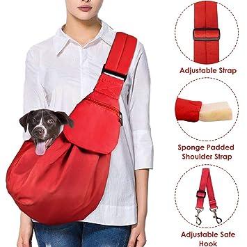 Amazon.com: Lukovee - Eslinga para mascotas, con correa ...