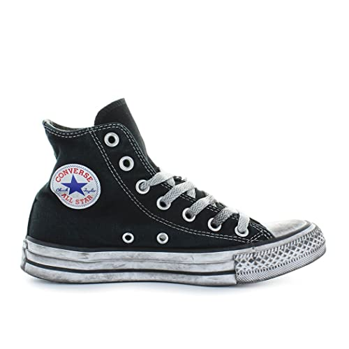 e194277660 Converse Sneakers Unisex, Chuck Taylor Ltd 156886C/BLACK Smoke, In Tela  colore Nero, All Star Hi Ltd, Nuova Collezione Primavera Estate 2018:  Amazon.co.uk: ...