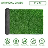 LITA Premium Artificial Grass 7' x 9' (63 Square Feet) Realistic Fake Grass Deluxe Turf Synthetic Turf Thick Lawn Pet Turf -Perfect indoor/outdoor Landscape - Customized