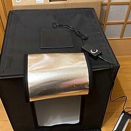 Amazon 撮影ボックス Bug Hull 撮影キット プロ 6色背景スクリーン スタンド付属 3380lm 5500k超高輝度ライト付き 調光器付き 写真撮影用 商品撮影 簡易スタイジオ 折り畳み式 60cm 簡易スタジオ 通販