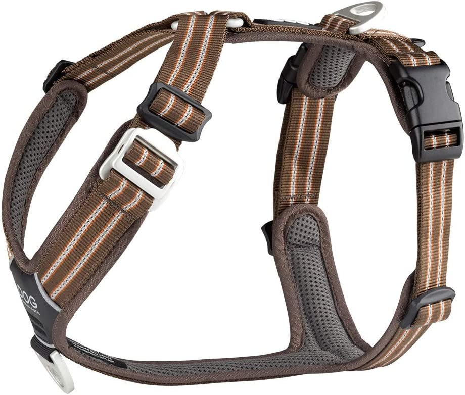 DOG COPENHAGEN Harnais Confort Walk Air Taille XS Marron