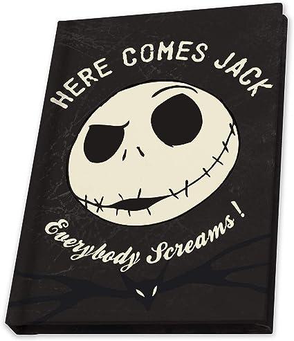 Disney Nightmare Before Christmas Notepad Jack Skellington